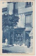 """ROMAINVILLE : Devanture """" Aux Galeries De La Poste"""" Lingerie MARTIN - GOUSSET - Rare - Commerce. - Romainville"""
