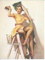 Format 16X22  - DESSIN: Gil ELVGREN ( PIN-UPS - EROTIQUE / NU / NUS / NUE / BAS - COLLANT ) Genre ASLAN - Andere Illustrators