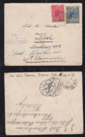 Brazil Brasil 1901 Cover RIBEIRAO PRETO To KIEL Germany Forwarded To BAD NAUHEIM - Lettres & Documents