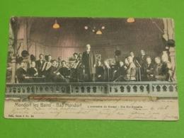 Mondorf-les-bains, L'orchestre Du Kursal. Série Nels Colour - Cartes Postales