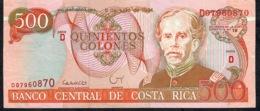Costa Rica P269 500 COLONES 6 Julio 1994 Serie D  XF - Costa Rica