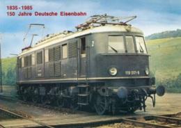 Elok E 19,119 001-6 Der DB, Ungelaufen - Eisenbahnen