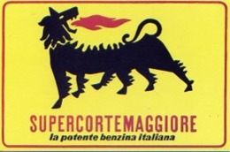 Var 2 - Supercortemaggiore – La Potente Benzina Italiana - Commercio