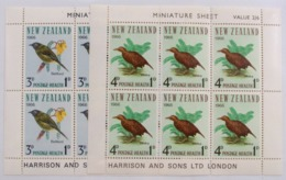 Nueva Zelanda HB 19/20 **/* - Hojas Bloque