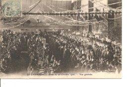 LOIRE LE CHAMBON FEUGEROLLES LES FETES DU 18 OCTOBRE 1906 ANIMEE ECRITE - Le Chambon Feugerolles