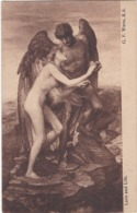 D1778 LOVE AND LIFE - G. F. WATTS, R.A. - WOODBURY SERIES - N°6339 - Peintures & Tableaux