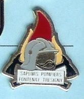 @@ Casque Sapeurs Pompiers De Fontenay Trésigny @@pom138a - Bomberos