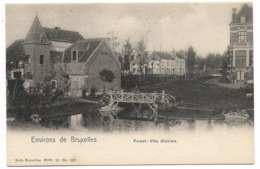 CPA PK  ENVIRONS DE BRUXELLES  FOREST  VILLA MICHIELS - Belgique