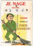 CPA - Carte à Système - Militaria - Je Nage - Humour - Père Cent - Humor