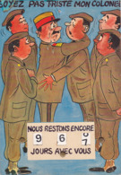 CPA - Carte à Système - Militaria - Soyez Pas Triste Mon Colonel - Humour - Père Cent - Humor