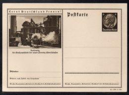 """ALLEMAGNE - III REICH - KATTOWITZ /1941 ENTIER POSTAL ILLUSTRE # 41-170-1-B1 """"LERNT DEUTSCHLAND KENNEN"""" (ref 7739h) - Ganzsachen"""