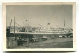BRASIL 1939 DOM PEDRO II SHIP Old PHOTOGRAPH LITTLE PHOTO ANTIGUA TARJETA POSTAL 050919 - Brasilien