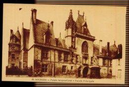 CPA 18 BOURGES N°32 PALAIS JAQUES COEUR FACADE PRINCIPALE A. AUXENFANS EDIT BOURGES - Bourges
