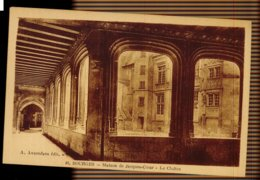 CPA 18 BOURGES N°46 MAISON DE JAQUES COEUR LE CLOITRE A. AUXENFANS EDIT BOURGES - Bourges