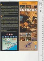 TICKET - ENTRADA / COVES DE L'ESPLUGA 2019 - Tickets - Entradas