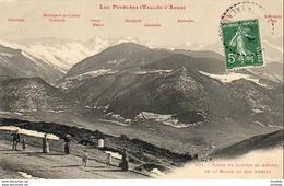 D65  LES PYRENEES  Fonds De Louron Et D' Aure, De La Route Du Col D' Aspin  ..... - Francia