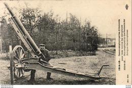GUERRE 1914- 1918  WW1  Canon Employé Par Les Allemands Pour Tirer Contre Les Aéroplanes   ... - Guerra 1914-18