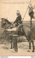 GUERRE 1914- 1918  WW1  Dragon Français Vedette En Alsace Recevant De Précieuses Indications  ... - Guerra 1914-18