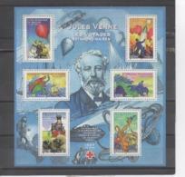 """FRANCE  - Jules VERNE, écrivain Français - Héros De Romans : """"5 Semaines En Ballon"""", """"De La Terre à La Lune"""", """"Michel St - Franz. Revolution"""