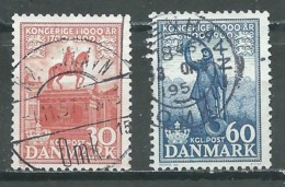 Danemark YT N°360/361 Royaume Oblitéré ° - Denmark