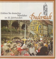 Germany - Duderstadt - 11 Pages - Illustrated Edition, Tourist Brochure Brochure Touristique - Niedersachsen
