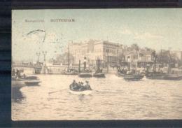 Rotterdam Maasgezicht Bootjes - 1913 Langebalk Station DP 1 - Rotterdam