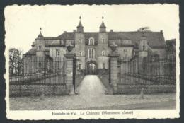 1.1 CPA - HOUTAIN LE VAL - Genappe - Le Château - Cachet Relais   // - Genappe