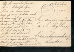Malden Langebalk - Militair Verzonden - 1939 - Postal History