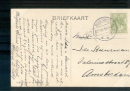 Muiderberg Langebalk - 1918 - Postal History
