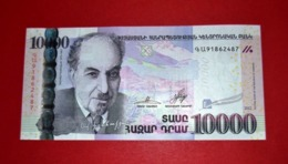 ARMENIA 10000 / 10.000 Dram 2012 - UNC -  NEUF - FDS - Armenia