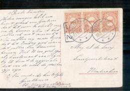 Sleeuwijk Langebalk - 1917 - Postal History