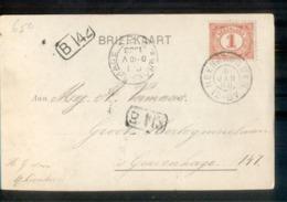 Heerjansdam Grootrond - 1908 - Marcophilie