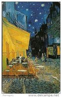 CARTE-PUCE-DEUTCH-12 DM-PD- 12/00-PEINTURE-VANGO GH-CAFE De La Place D ARLES Le SOIR-TBE - Peinture