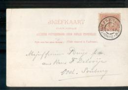 Houtrijk En Polanen - Grootrond - 1904 - Marcophilie