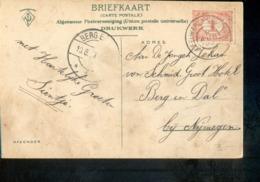 Leeuwarden Meppel E Grootrond - 1907 - Marcophilie