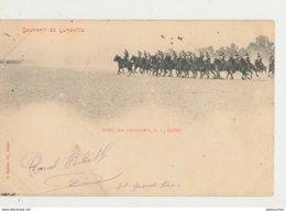 54 LUNEVILLE SOUVENIR DEFILE DES CUIRASSIERS LE 14 JUILLET CPA BON ETAT - Luneville