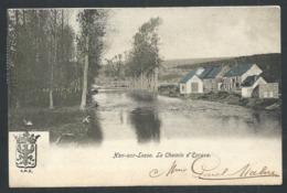 1.1 CPA - HAN SUR LESSE - Rochefort - Le Chemin D'Eprave - Couleur 1904 - Cachet Relais    // - Rochefort
