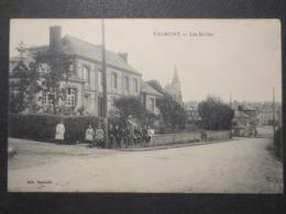 76 - Valmont - CPA - Les écoles - Vauchelle - Phototypie E. Desaix  - B.E - - Valmont