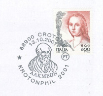 Alkmaion Von Kroton Arzt Lebte Im Griechischen Süditalien Bei Crotone - Médecine