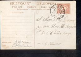 Oldeberkoop Grootrond - 1909 - Postal History