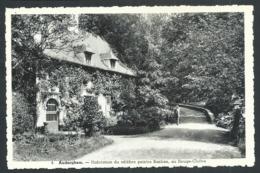 1.1 CPA - AUDERGHEM - OUDERGEM - Habitation Du Célèbre Peintre Bastien - Rouge Cloître   // - Auderghem - Oudergem