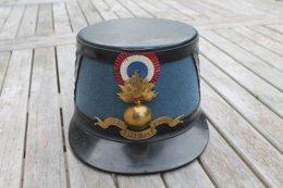 SHAKO FRANCAIS ELEVE OFFICIER SAINT CYR - Headpieces, Headdresses