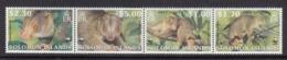 Solomon Island MNH Michel Nr 1062/65 From 2002 WWF / Catw 6.00 EUR - Isole Salomone (1978-...)