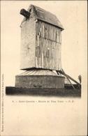 Cp Saint Quentin Aisne, Moulin De Tous Vents, Ansicht Von Einer Windmühle - Moulins à Vent