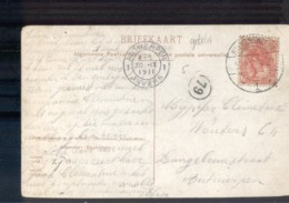 Stevensweert - Langebalk 1 - 1911 - Poststempel