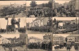 Manifestations Patriotiques  - Lot 17 Cartes (top Animation, Rossignol Tintigny Roi Martyrs...) - Patriotiques