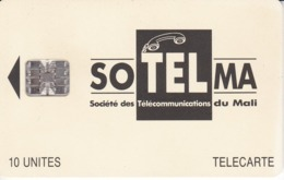 TARJETA DE MALI DE 10 UNITES DE SOTELMA - Malí