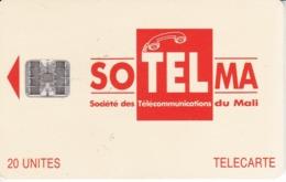 TARJETA DE MALI DE 20 UNITES DE SOTELMA - Mali