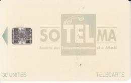 TARJETA DE MALI DE 30 UNITES DE SOTELMA - Mali