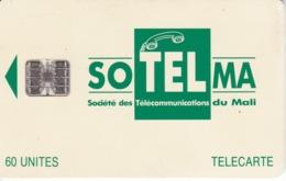 TARJETA DE MALI DE 60 UNITES DE SOTELMA - Mali
